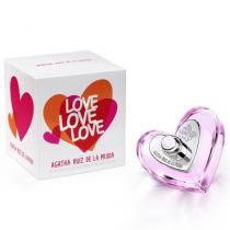 Love Love Love Eau de Toilette Agatha Ruiz de La Prada - Perfume Feminino - 50ml - Agatha Ruiz de La Prada