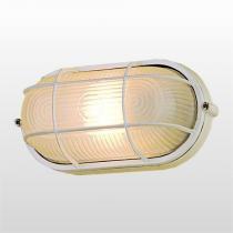 Luminaria Aluminio Grade Pequena Nautica Branca Bronzearte - BRONZEARTE