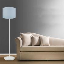 Luminária Coluna Luma Cinza - Markine Mobilier - Bivolt - Premier Iluminação