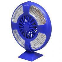 Luminária LED e Ventilador 4 Modos de Iluminação - com Sistema Multi-Fixação - Nautika Fan