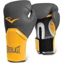 Luva Boxe Everlast Pro Style Elite Training 12 OZ - 1200661 Preto/Amarelo - Everlast