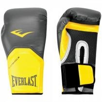 Luva Boxe Everlast Pro Style Elite Training 14 OZ - 1200761 Preto/Amarelo - Everlast