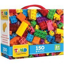 Maleta Blocos de Montar Tand 150 Peças - Toyster