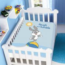 Manta Microfibra Looney Tunes Baby Rough and Tumble Azul - Jolitex - Azul - Jolitex