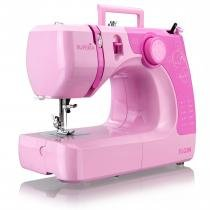 Máquina de Costura Portátil Supéria JX-2050R Rosa Elgin - 220V - Elgin