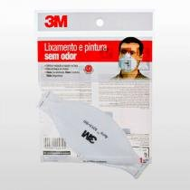 Máscara Protecão Lixar/Pintar Sem Odor Aura 3m - 3M