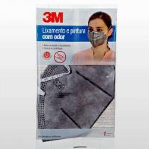 Máscara Proteção Pintura Com Odor Dobravel 3m - 3M