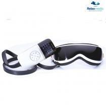 Massageador Facial Portátil Eye Massage Com Vibração e Função Aquecimento RM-EM 2404 - Relaxmedic - Bivolt - Relaxmedic