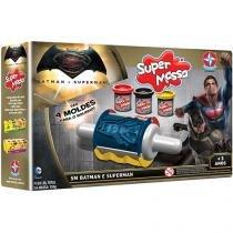 Massinha Batman vs Superman Super Massa - Estrela com Acessórios