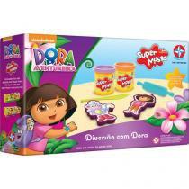 Massinha Dora a Aventureira Super Massa - Diversão com Dora Estrela com Acessórios