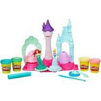 Massinha Play-Doh Castelo das Princesas Disney - Hasbro com Acessórios