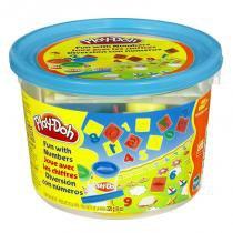 Massinha Play-Doh Mini Balde Azul Números 23326 - Hasbro - Hasbro