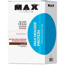 Max Mousse Protein 600g Chocolate - Max Titanium - Chocolate - Max Titanium