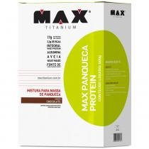 Max Panqueca Protein 600g - Max Titanium - Chocolate - Max Titanium