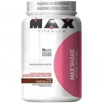 Max Shake Pote 400g - Max Titanium - Chocolate - Max Titanium