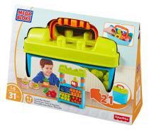 Mega Bloks First Builders Lancheira e Mercado 2 em 1 - Mattel - Mattel