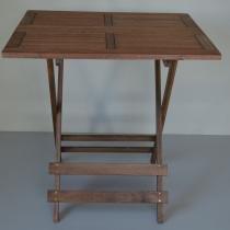 Mesa Articulável Artek Quadrada - Markine Mobilier - Marrom - Wood Group