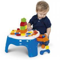 Mesa de Atividades Infantil Play Time com Gaveta 1950 - Cotiplás - Cotiplás
