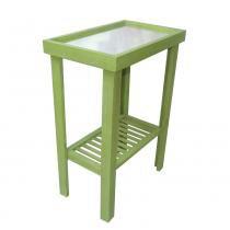 Mesa de Café GD Verde Envelhecido - Markine Mobilier - Verde - MyWood