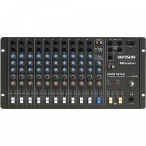 Mesa de Som 12 Canais LEDs Indicadores MXS12SA Preto - Ciclotron - Ciclotron
