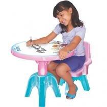 Mesa Infantil Frozen de Atividades - Lider Brinquedos
