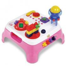 Mesa Max Atividades Rosa 1070L Magic Toys com Som e Luzes - Magic Toys