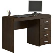 Mesa para Computador/Escrivaninha Malta - 4 Gavetas - Politorno