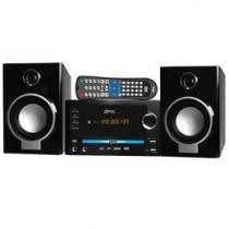 Micro System Lenoxx DVD 25W RMS Função MP3 - Ripping Conexão USB MD270