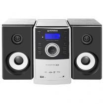 Micro System Mondial 1 CD 2 Caixas Subwoofer - 20W RMS Função MP3 Conexão USB MS-06
