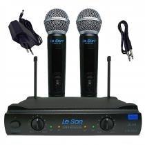 Microfone de Mão sem Fio UHF LS-902 HT/HT - Leson - Leson