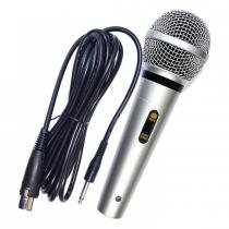 Microfone Dinâmico com Fio 5 Metros Emborrachado MUD-515 - Alltech - AlltechPro