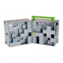 Minecraft Maleta Para Figuras - Mattel - Mattel