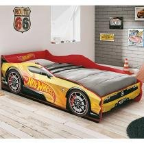 Mini-Cama Infantil - Pura Magia Hot Wheels