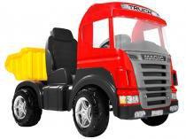 Mini Caminhão a Pedal Infantil Truck Emite Sons - Magic Toys