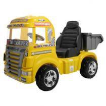 Mini Caminhão Elétrico Infantil Big Truck - Emite Sons Magic Toys
