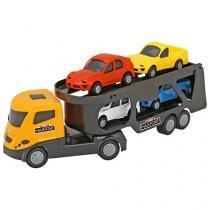 Mini Caminhão Infantil Cegonheira Maxfort - Home Play