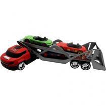 Mini Caminhão Infantil Cegonheira Roda Livre - Toyng