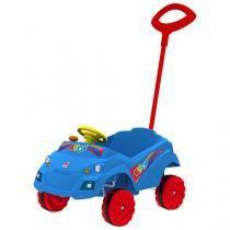 Mini Carro a Pedal Infantil 1ª Infância - KidCar Passeio Bandeirante