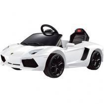 Mini Carro Elétrico Infantil com Controle Remoto - Emite Sons Farol Dorel