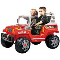Mini Carro Elétrico Infantil Ranger 538 - Emite Sons 12 Volts Peg-Pérego