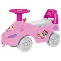 Mini Carro Infantil Disney Passo a Passo Princesa - Bandeirante