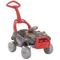 Mini Carro Smart Infantil Passeio & Andador - Primeira Infância Bandeirante
