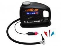 Mini Compressor de Ar Turbo Air 12 Volts - Ferrari MCTA 12