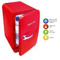 Mini Geladeira Portátil de 05 litros Vermelha Bivolt 12V F05V DC/AC  Mobicool - Mobicool