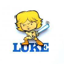 Mini Luminária para Parede Star Wars Luke - 3D Light FX