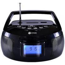 Mini Rádio Portátil USB/SD/AUX 6W RP100 Preto - Vinik - Vinik