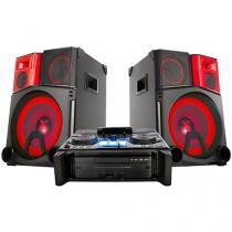 Mini System LG 3900W RMS USB MP3 USB - X Boom Pro