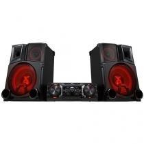 Mini System LG Subwoofer 2600W RMS MP3 USB - CM9750