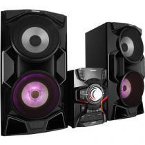 Mini System Samsung Subwoofer 2000W RMS MP3 - karaokê Rapping USB MX-HS6500