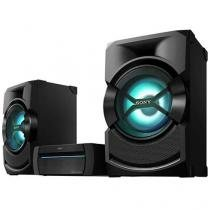 Mini System Sony 2 Caixas Subwoofer 1000W RMS - MP3 Karaokê USB Shake X-3D